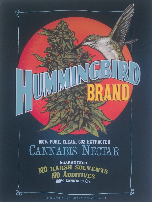Hummingbird Brand Cannabis Nectar