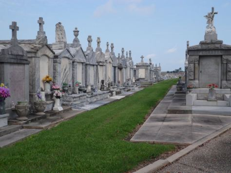 Louisiana's culture is rich! The cemetaries are world famous and definitely RICH! Buriel Plots can be tens of thousands!