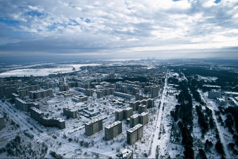 Pripyat. Cold, dead and toxic! Ghost City of 50,000!