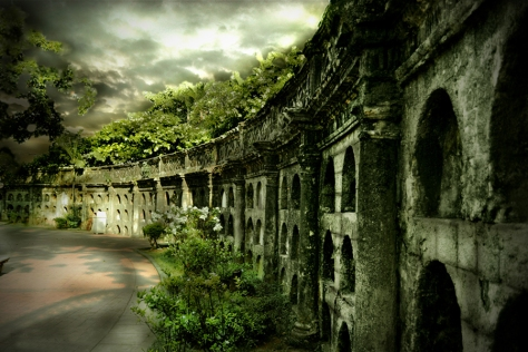Ruins of Paco Park Cemetery by Rodel Cabantac