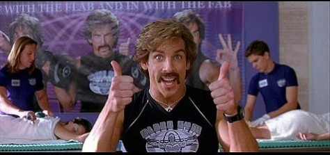 Awful People Ben Stiller in Dodgeball. Image courtesy Google Images.