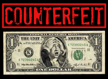 Counterfeit...It's much more than money!