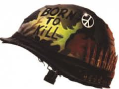 Full Metal Jacket Helmet: Peace Be With You!
