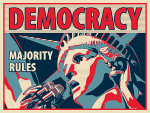 Democracy majority rules