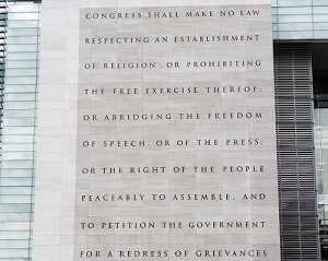 Congress Shall Make NO LAW...First Amendment of the Constitution. Image Crtsy Google Img
